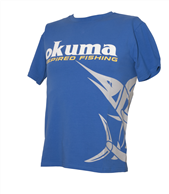 OKUMA T SHIRT MARLIN BLUE